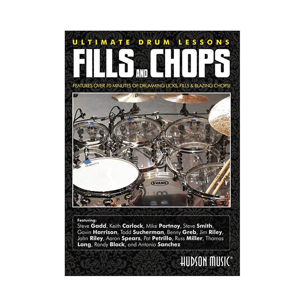 Hudson Music Fills & Chops Ultimate Drum Lessons DVD 1331921973899