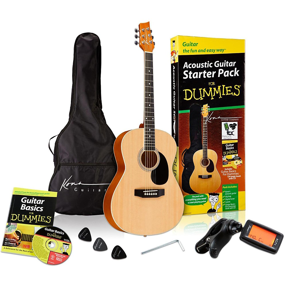 For Dummies Acoustic Guitar For Dummies Starter Package
