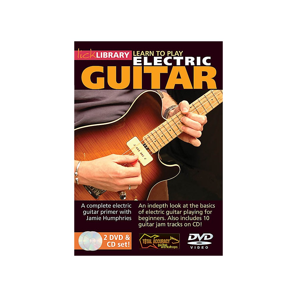 Hal Leonard Learn To Play Electric Guitar Lick Library Series (Dvd) 1337009663843