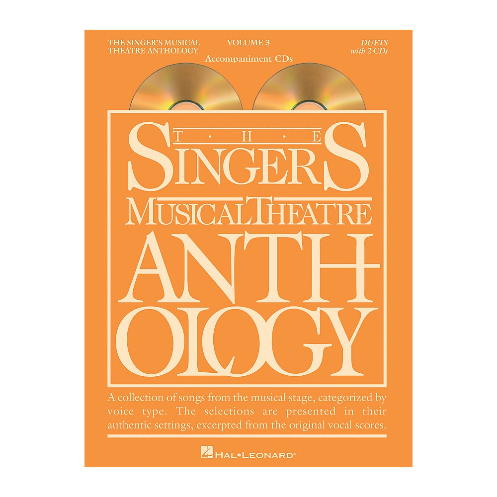 Hal Leonard Singer's Musical Theatre Anthology Duets Volume 3 Accompaniment Cds 1343059398377