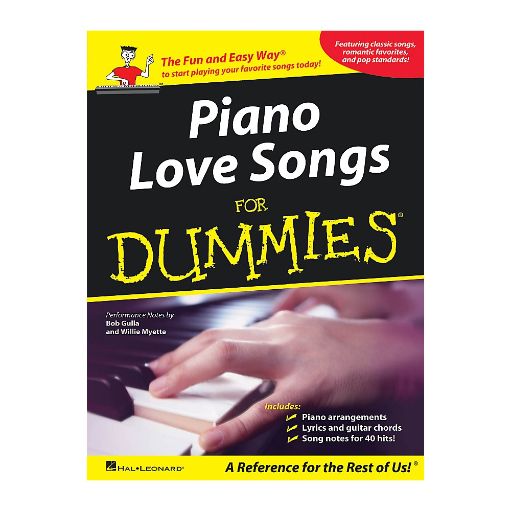 Hal Leonard Piano Love Songs For Dummies