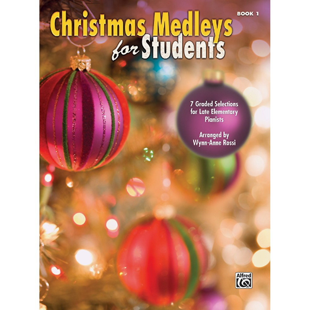 Alfred Christmas Medleys For Students Book 1 1344007036390