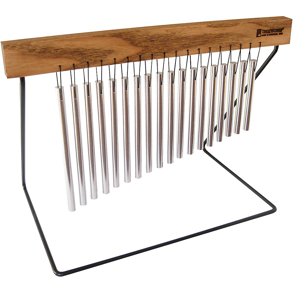Treeworks Tabletop Chime With Steel Stand 1323966671010