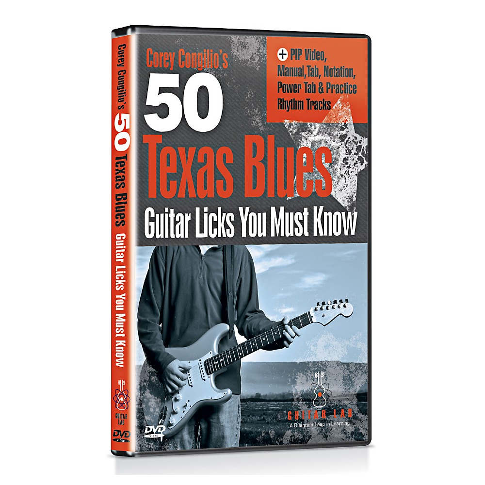 Emedia 50 Texas Blues Licks You Must Know Dvd 1347291698385
