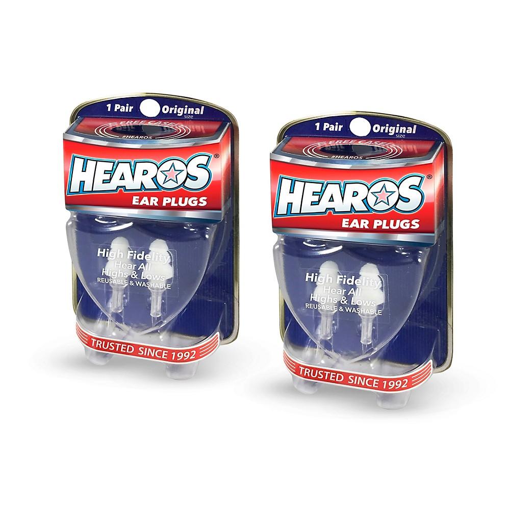 Hearos High Fidelity Ear Plugs 2-Pack 1347893627287