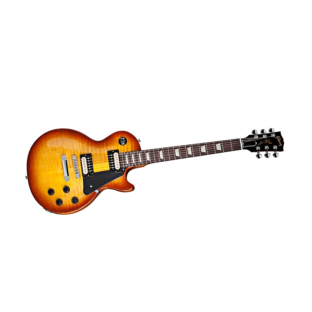 Gibson Les Paul Studio Deluxe II '60s Neck Flame Top Electric Guitar Honey Burst 1350920020650