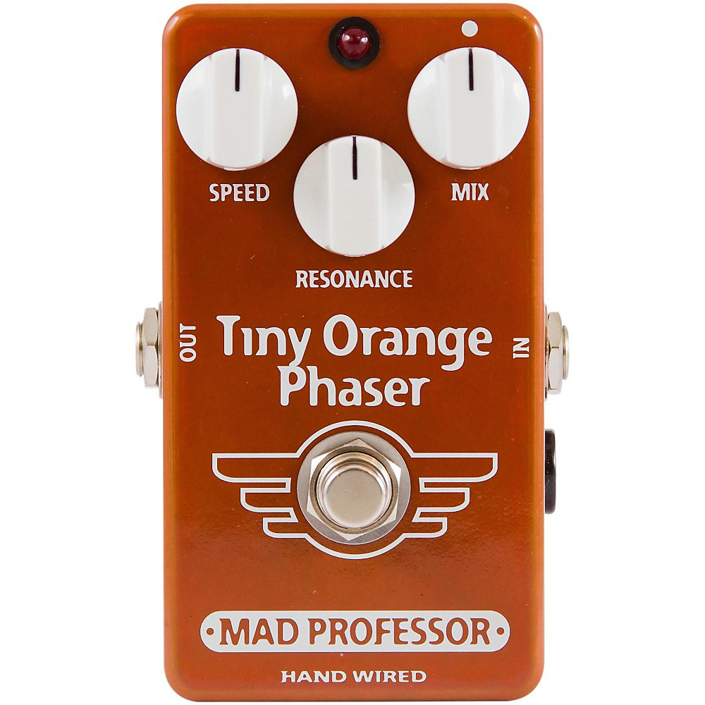 Mad Professor Hand Wired Tiny Orange Phaser Guitar Effects Pedal