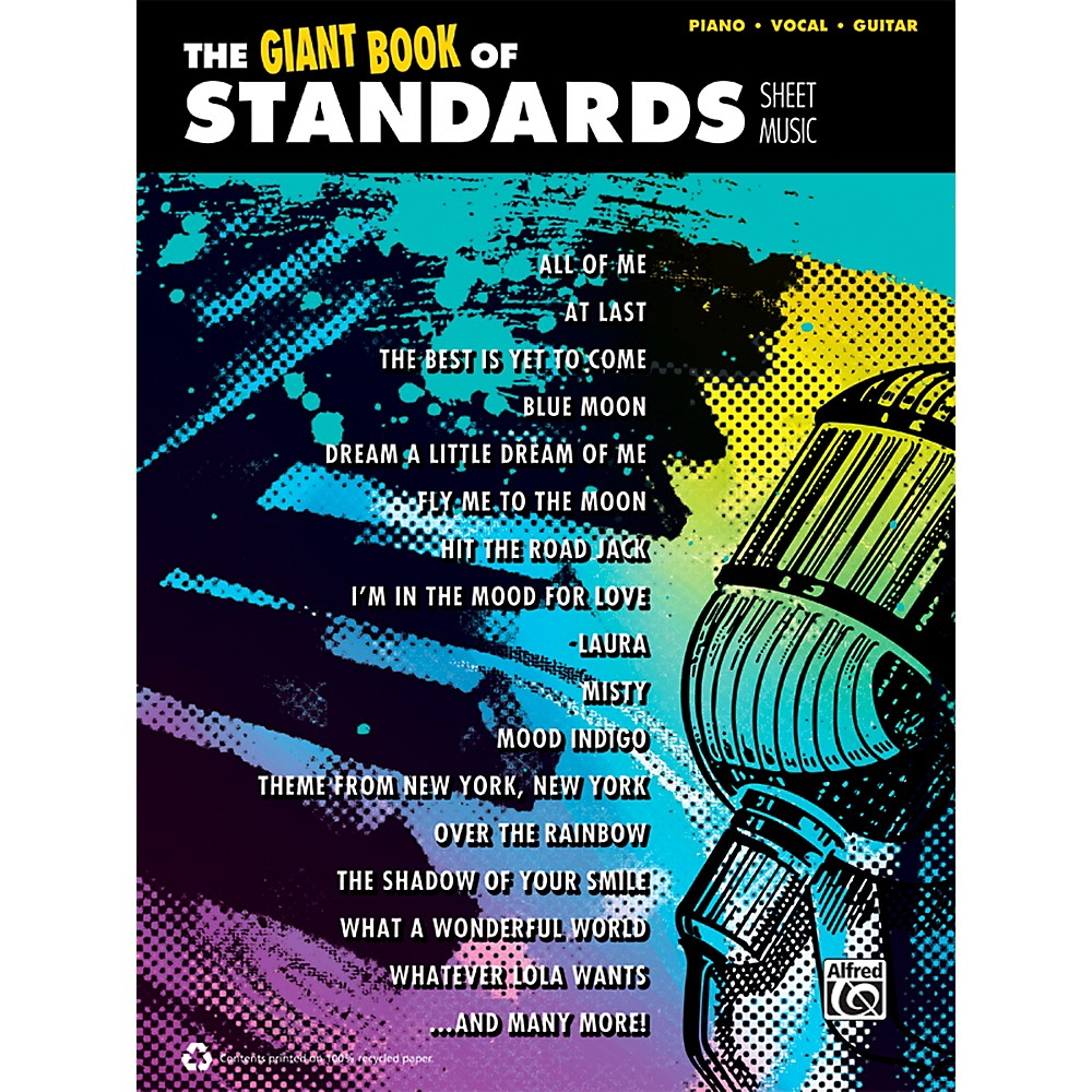 Alfred The Giant Book Of Standards Sheet Music P/V/C Book 1358786586538