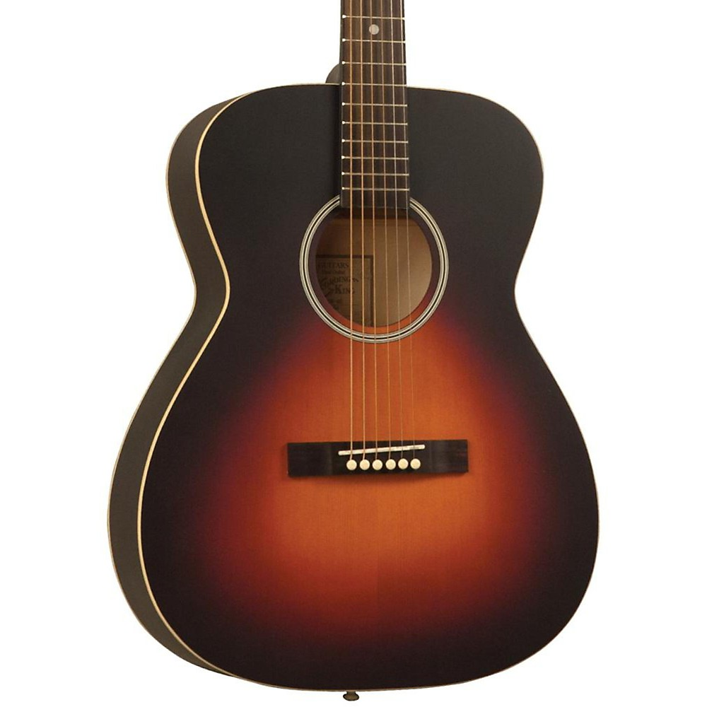 Recording King Dirty Thirties OOO Solid Top Satin Sunburst 1361202707752