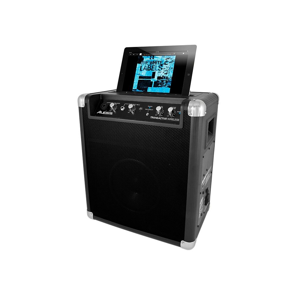 Alesis Transactive Portable Powered Bluetooth Speaker System 1363016751570