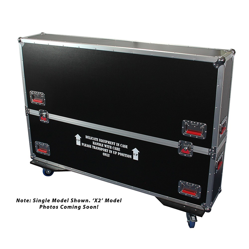 Gator G-Tour LCD Monitor Case For Two Screens 50-55 in. screens