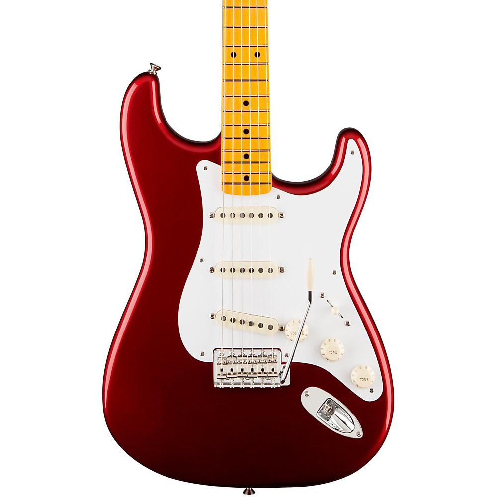Fender Classic Series '50S Stratocaster Lacquer Candy Apple Red 1365435332202