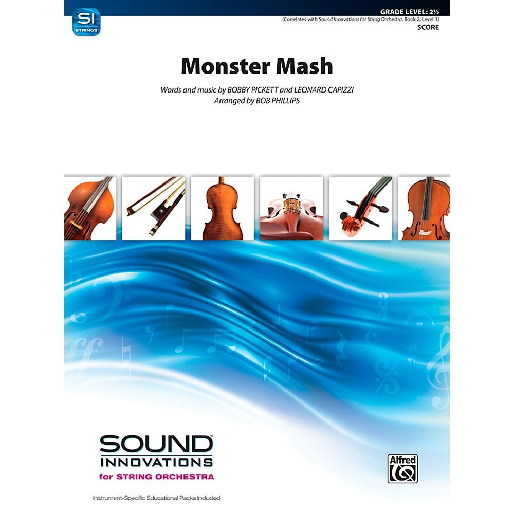 Alfred Monster Mash String Orchestra Grade 2.5 Set 1366643218056