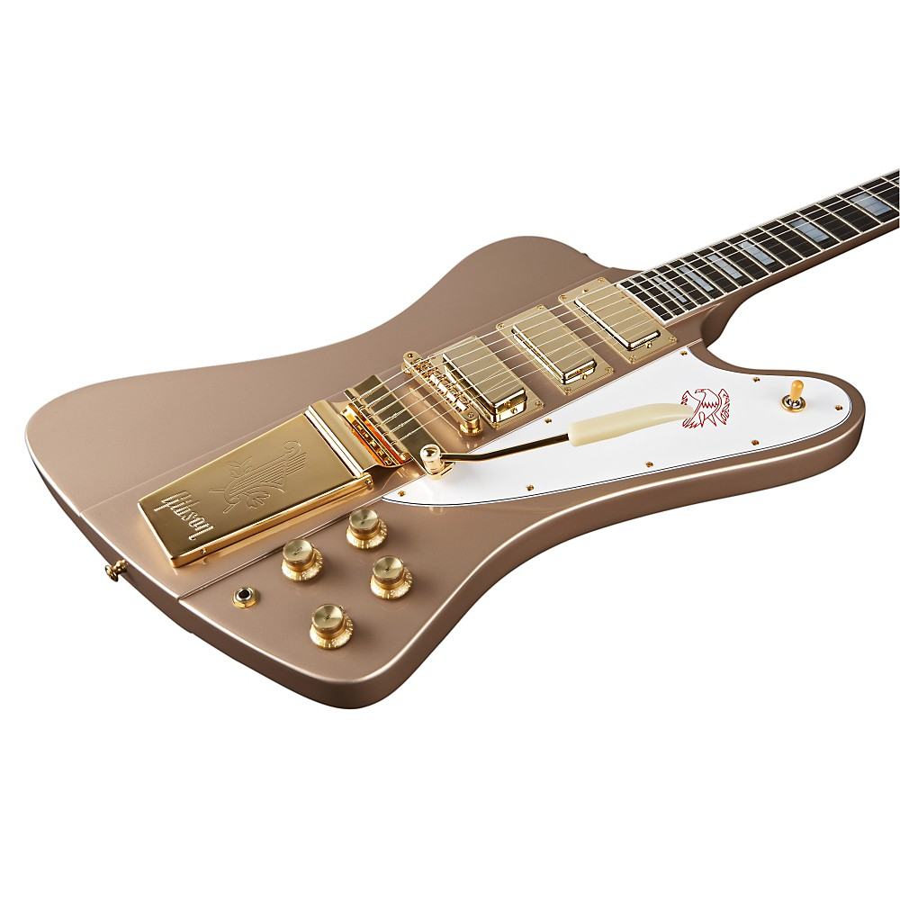 Gibson Custom 20Th Anniversary Firebird Vii Electric Guitar Gloss Polymist Gold 1367851260031
