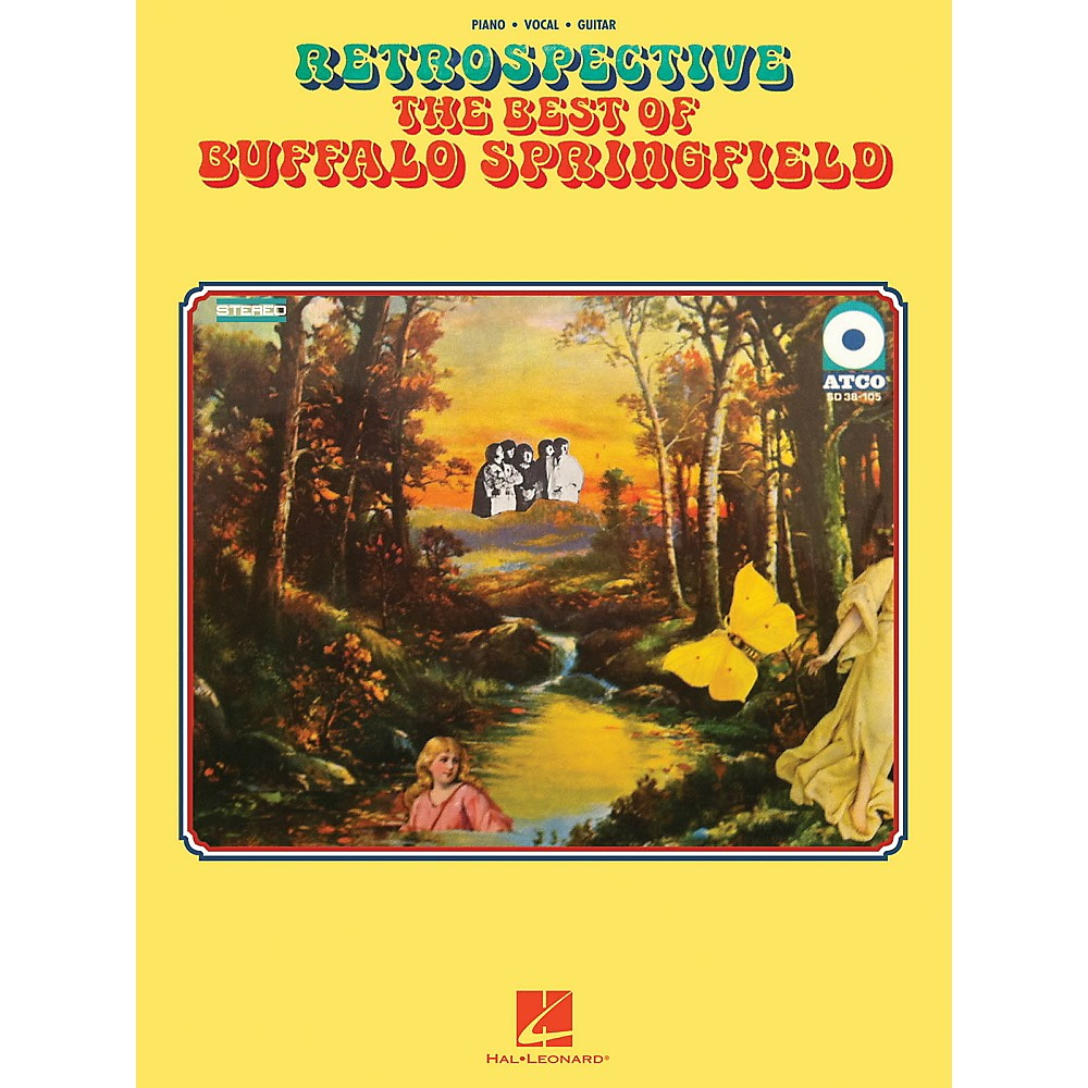 Hal Leonard Retrospective The Best Of Buffalo Springfield For Piano/Vocal/Guitar 1367851259425