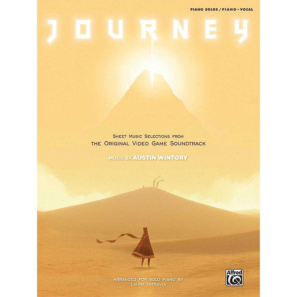 Alfred Journey: Sheet Music Selections From The Original Video Game Soundtrack Book 1369238769281