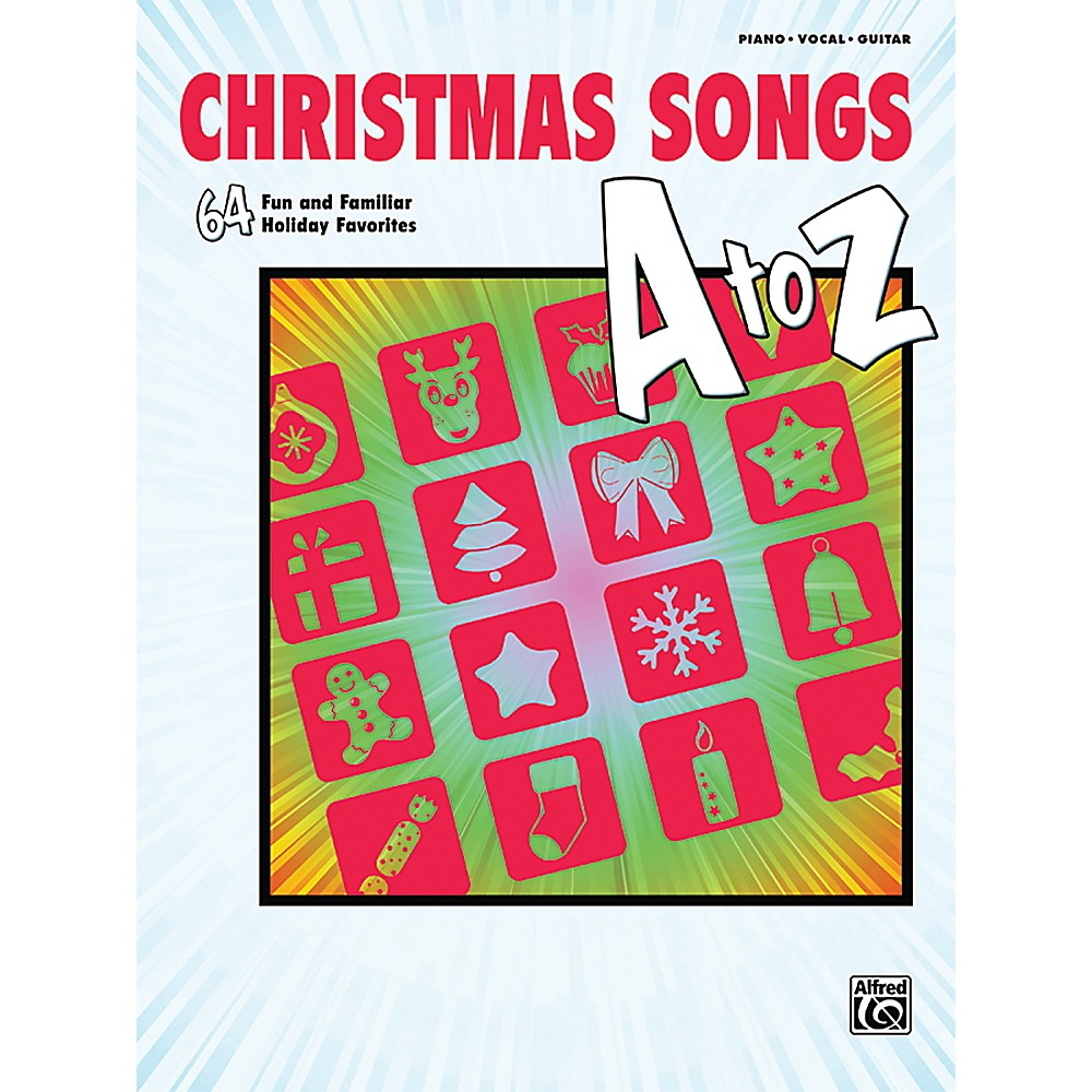 Alfred Christmas Songs A To Z  P/V/C Book 1369238769287