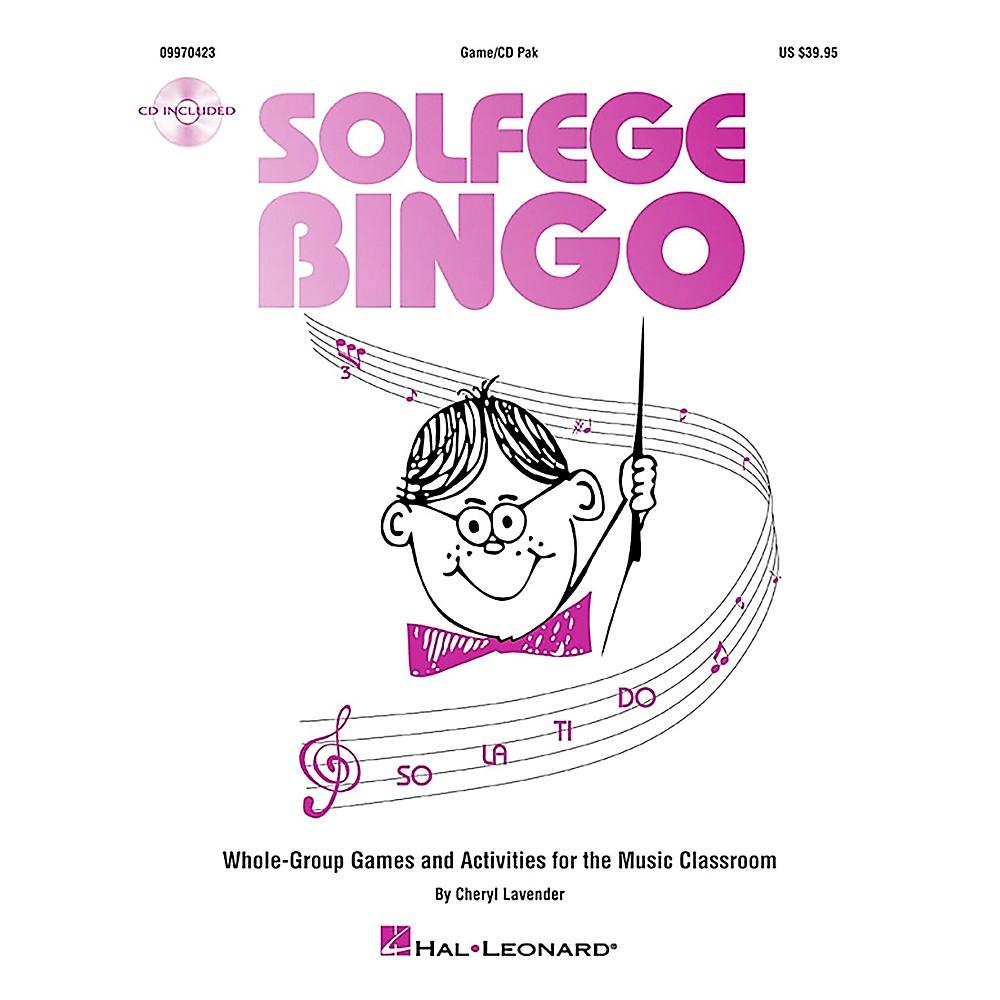Hal Leonard Solfege Bingo - Whole-Group Games and Activities Game/CD 1369689039006