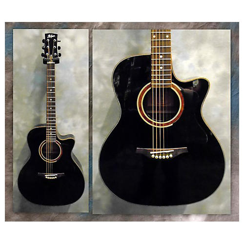 Hofner HA-GA05-BK Acoustic Electric Guitar