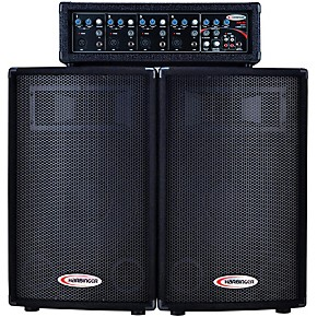 harbinger ha120 portable pa system guitar center. Black Bedroom Furniture Sets. Home Design Ideas