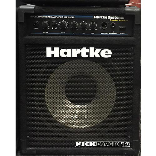 used hartke ha1200 kickback 12 bass combo amp guitar center. Black Bedroom Furniture Sets. Home Design Ideas
