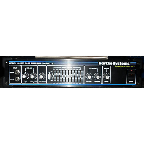 Hartke HA2000 Bass Amp Head-thumbnail
