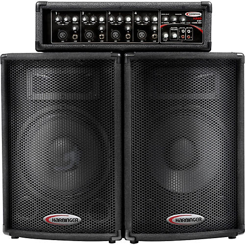 speakers guitar center. harbinger ha60 pa system speakers guitar center