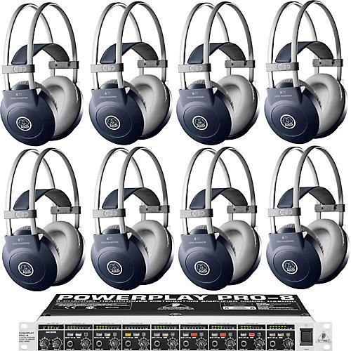 AKG HA8000/K77 Headphone Eight Pack