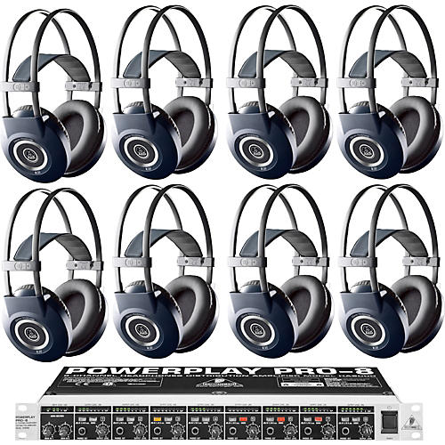 AKG HA8000/K99 Headphone Eight Pack
