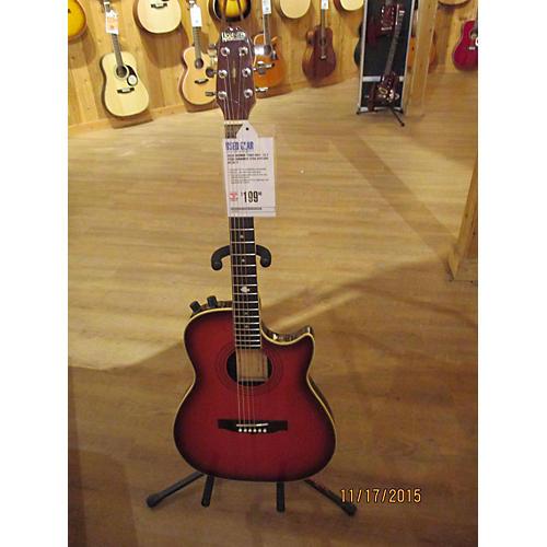 Hohner HAG - 22 Acoustic Electric Guitar-thumbnail