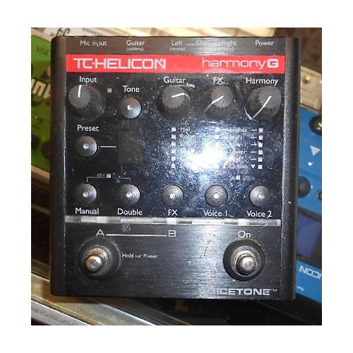 TC Helicon HARMONY G Effect Pedal-thumbnail