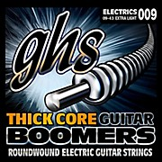 GHS HC-GBXL Thick Core Boomers Extra Light Electric Guitar Strings (9-43)