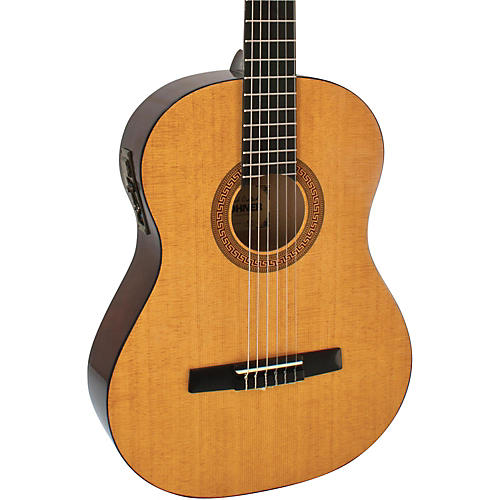 Hohner HC06E Classical Nylon String Acoustic-Electric Guitar