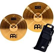 Meinl HCS-C2 Double Crash Pack with FREE Stick Bag