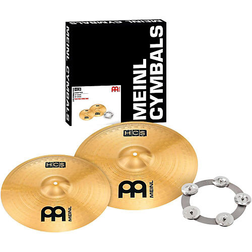 Meinl HCS Crash Pack with Free Ching Ring