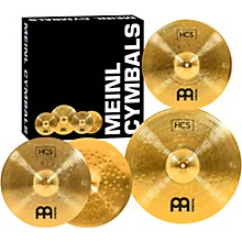 Meinl HCS Cymbal Pack with Free 14 Inch Crash Level 1