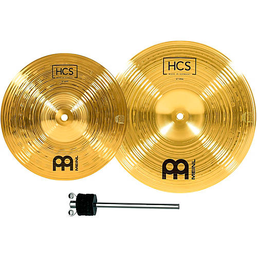 Meinl HCS-FX Splash and China Cymbal Effect Stack with FREE Stacker-thumbnail