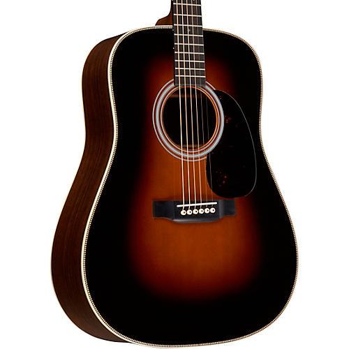 martin hd 28 standard dreadnought acoustic guitar sunburst guitar center. Black Bedroom Furniture Sets. Home Design Ideas