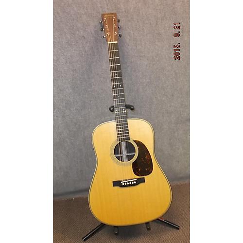 Martin HD-28E RETRO Natural Acoustic Electric Guitar