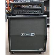 Line 6 HD100 AND 4X12 CABINET V30'S Guitar Stack