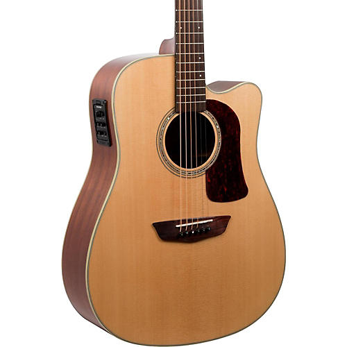 Washburn HD100SWCEK Heritage Series Dreadnought Acoustic-Electric Guitar-thumbnail
