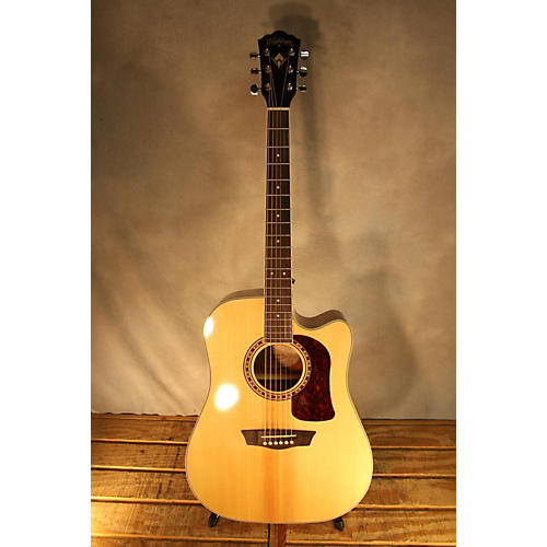 used washburn hd10sce acoustic electric guitar guitar center. Black Bedroom Furniture Sets. Home Design Ideas