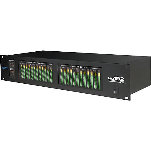 MOTU HD192 Core Computer Recording System  PCIe
