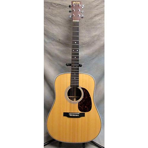 used martin hd28 acoustic guitar natural guitar center. Black Bedroom Furniture Sets. Home Design Ideas