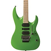 HD400 Hard Rock Double Cutaway Electric Guitar Green Lemon