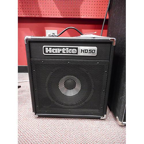 used hartke hd50 bass combo amp guitar center. Black Bedroom Furniture Sets. Home Design Ideas