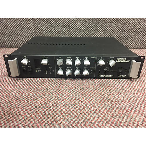 Ernie Ball Music Man HD500 Tube Bass Amp Head-thumbnail