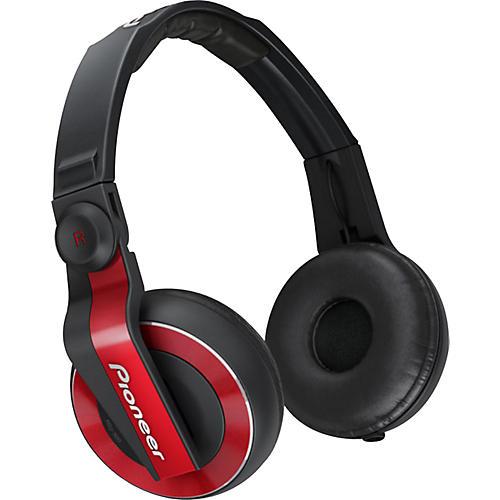Pioneer HDJ-500 DJ HEADPHONES Red