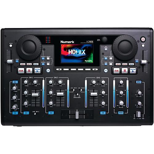 Numark HDMIX DJ Performance Mixer With Built-in Hard Drive
