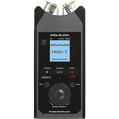 iKEY HDR-7 Portable Field Recorder-thumbnail